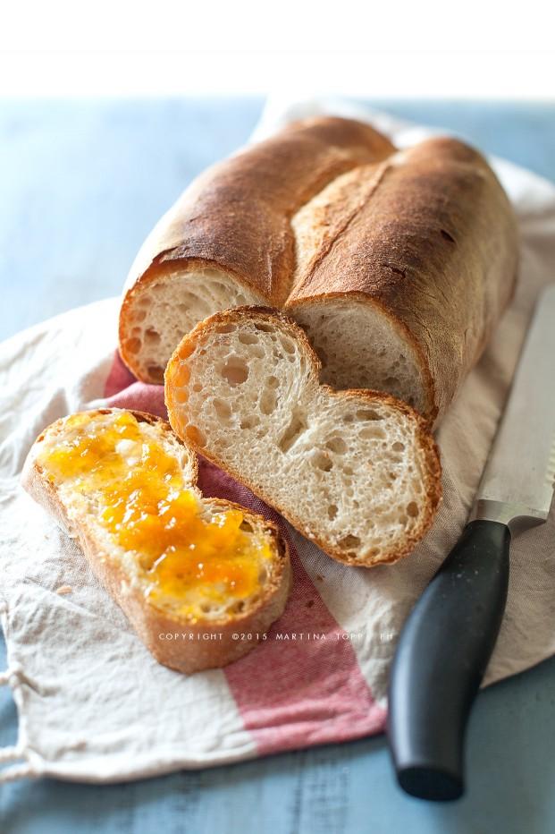 Split loaf, pane di farina di grano tenero