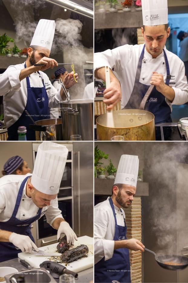 Chef all'opera al Campus Etoile Academy