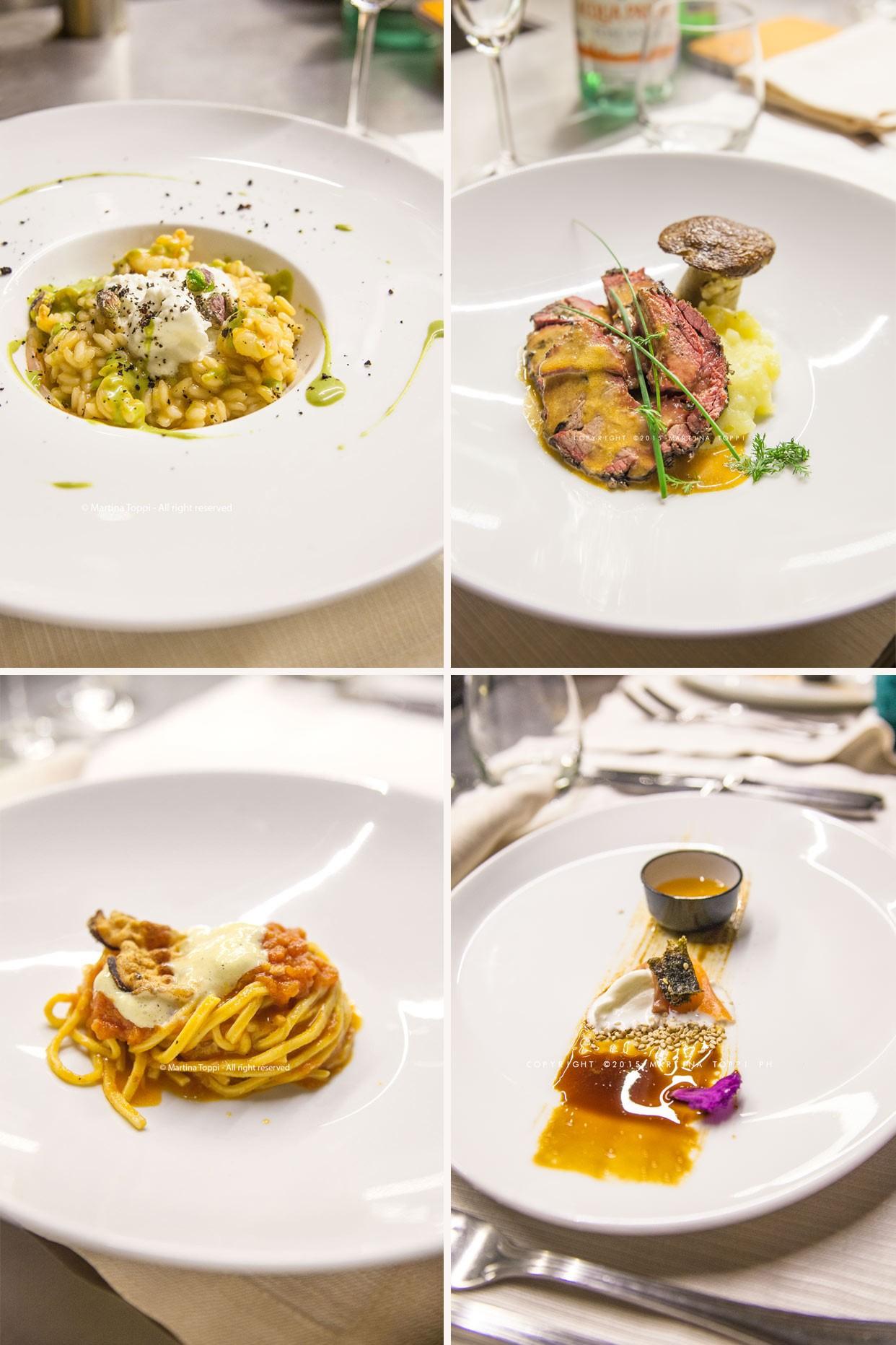 Campus Etoile Academy, i piatti degli chef