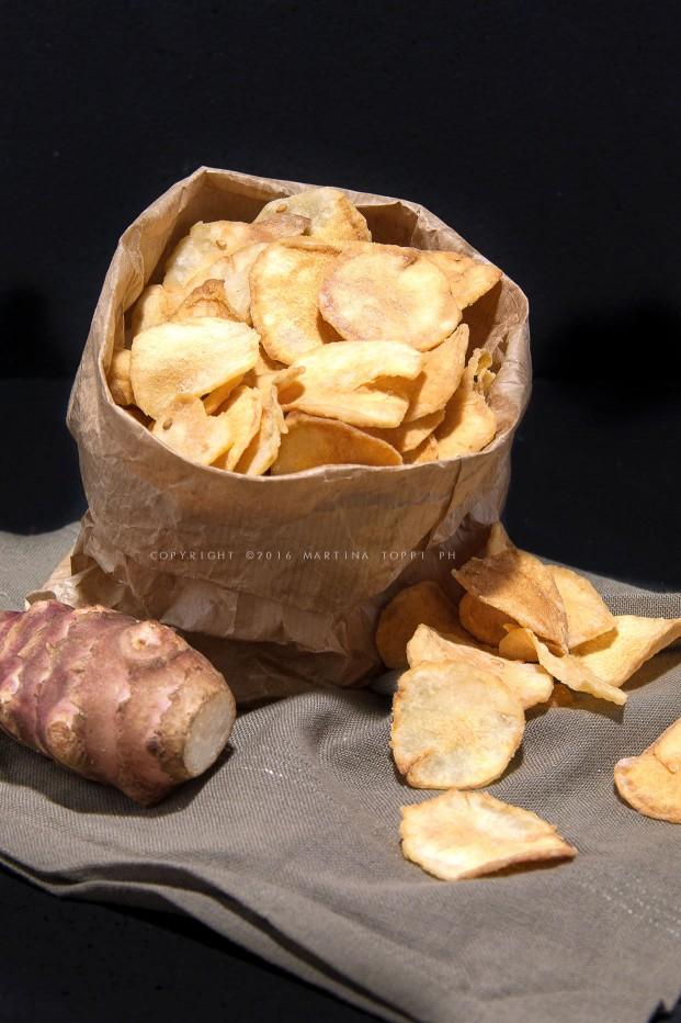 Chips di topinambur: croccantissime, più buone delle patatine!