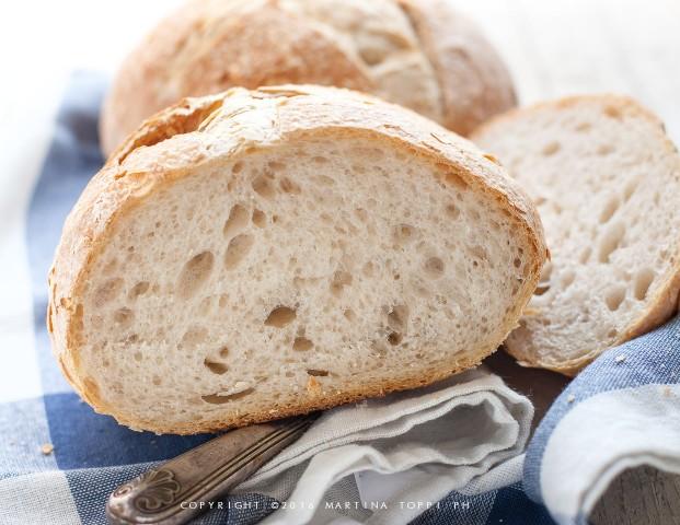 pane casereccio con lievito madre