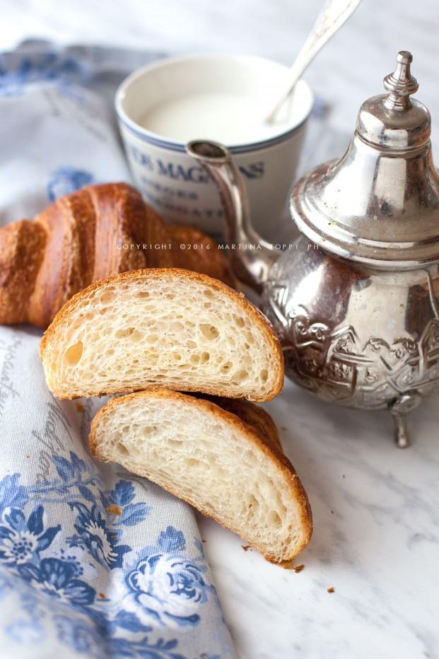 Croissant francesi: alveolatura