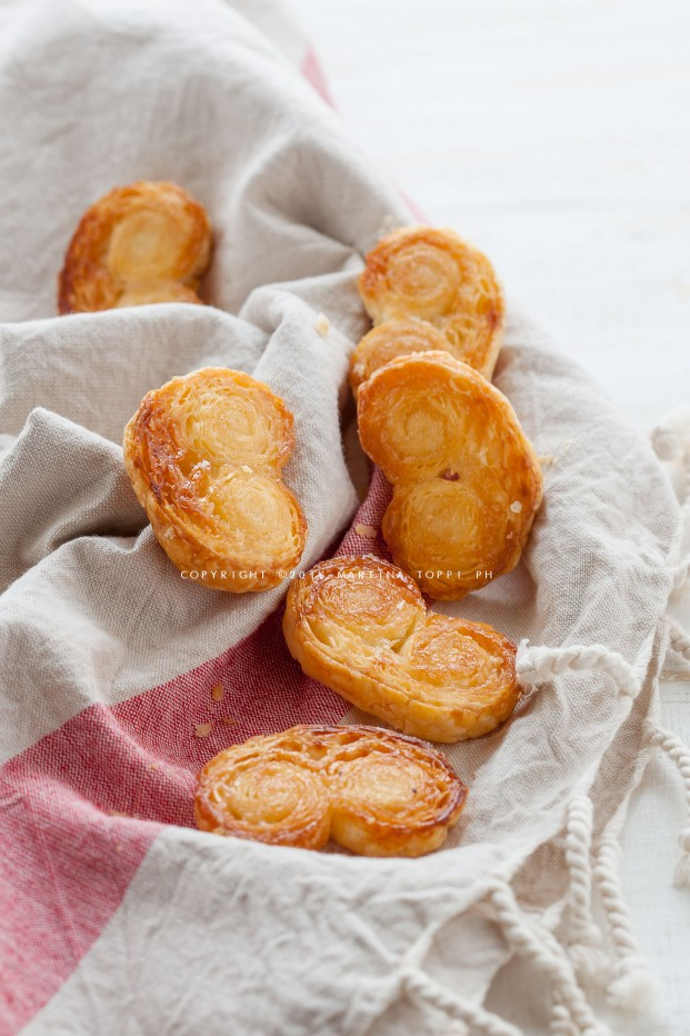 5c6ad0bc1f4 Ventagli di pasta sfoglia (Prussiane) Ricetta sfogliatine dolci