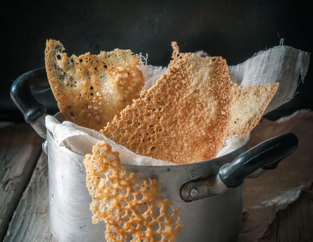 cialde croccanti di farina