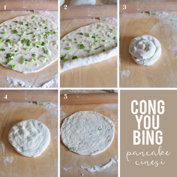 Cong you bing - pancake cinesi