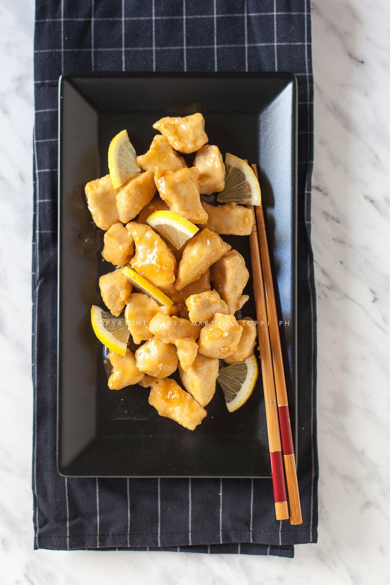 pollo al limone cinese