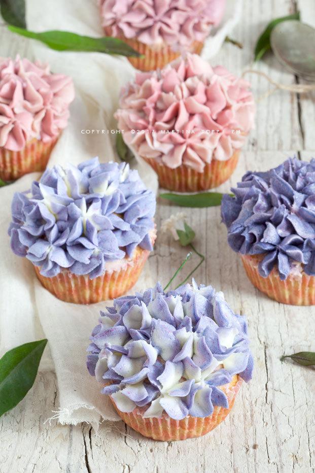 cupcakes ortensia