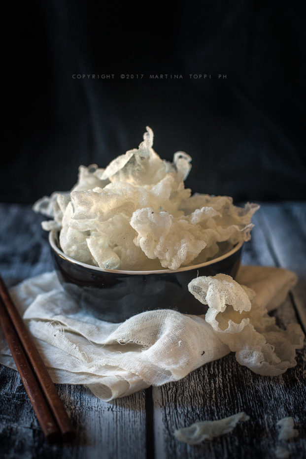 chips di riso croccanti