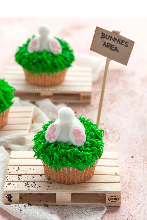 bunny but cupcakes