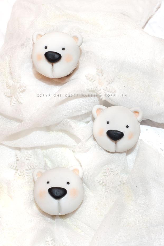 Cupcakes orso polare