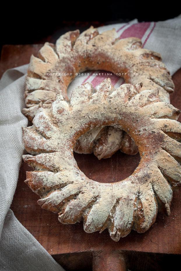 corone di pane ai semi