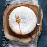 torta farcita con doppia cottura