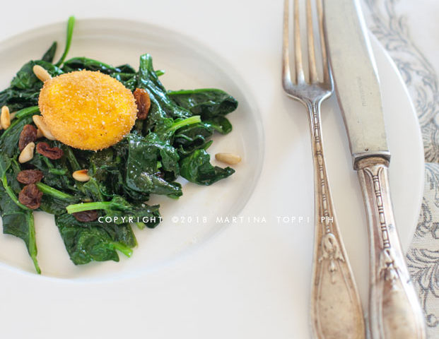 uovo alla Cracco: tuorlo fritto croccante