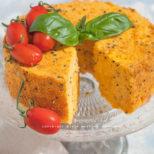 chiffon cake salata alla pizzaiola