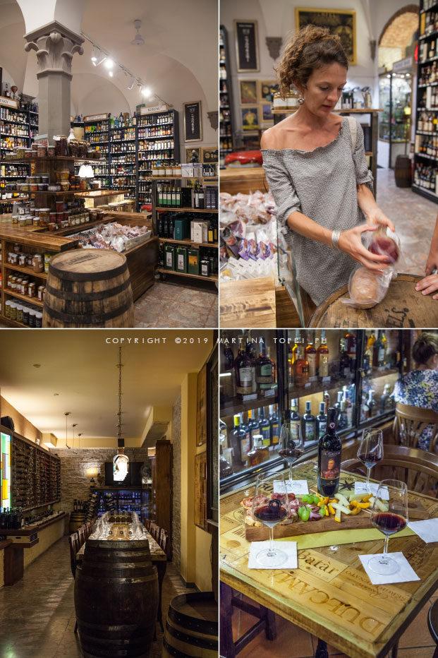 Firenze tour: bottglieria Alessi