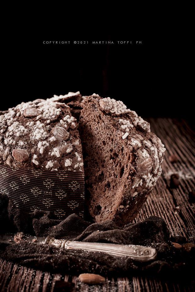 Panettone al cioccolato Seven Setteveli di Luca Mannori